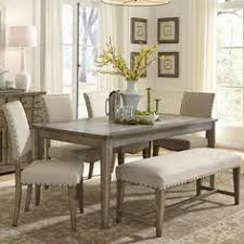 weatherford 6 piece dining table and chairs set by liberty furniture at johnny janosik white dining