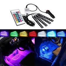 Mk5 Jetta Led Interior Lights Us 11 7 31 Off Remote Control Rgb Led Strip Car Interior Lights For Vw Golf 4 5 6 7 Mk5 Mk6 Mk7 Bora Passat B5 B5 5 B6 B7 Cc Gti Sharan Tiguan In