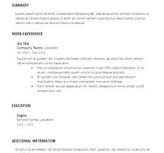 Resume Builder For Free Stunning Free And Easy Resume Builder As Well As Free Resume Builder Download