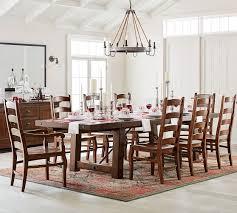 benchwright extending table wynn chair dining set