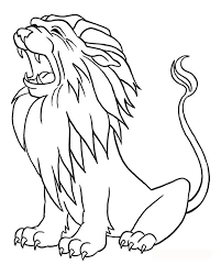 Small Picture Printable 17 Roaring Lion Coloring Pages 7538 Lion Head Coloring