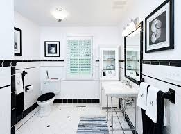 beautiful black and white bathroom decorating ideas