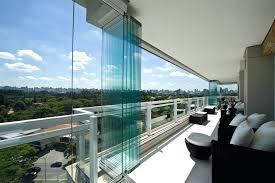 stacking glass doors exterior for amazing folding patio frameless durban