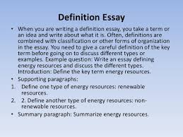 how to write essays definition essay• when you are writing