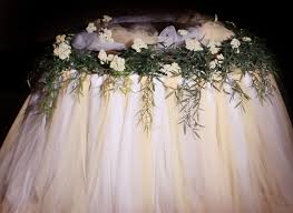 how to create a tulle table skirt d wedding cake tulle skirt this