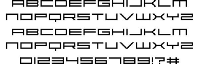 Abstract Font By Fonts For Flash Fontriver