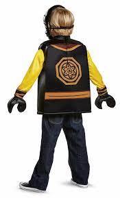Lego The Ninjago Movie Cole Child Costume Small 4-6 for sale online