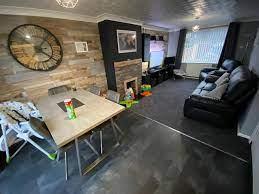 using laminate flooring on their walls
