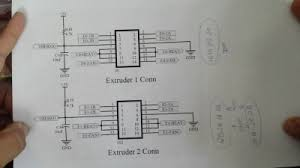 extruder board wiring rigidwiki grab the wiring diagram for the extruder ribbon cable from the wiki and print it out