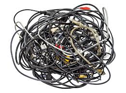 Heap Of Different Cables