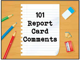 Grade 3 Book Report Template Custom 48 Report Card Comments To Use Now Scholastic