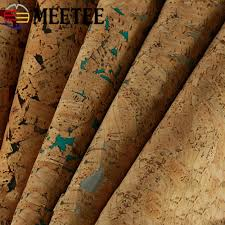 Meetee 45x137cm <b>1.2mm Thick Leather</b> Fabric Artificial Synthetic ...