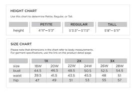 Liz Claiborne Size Chart 43 Ageless Qvc Sizing Chart