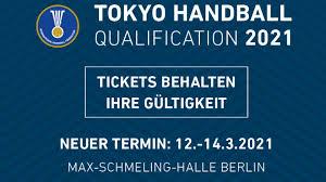 Handball & straßenrennen live im tv, stream, ticker olympia: Olympia Qualifikation Bleibt In Berlin Dhb De