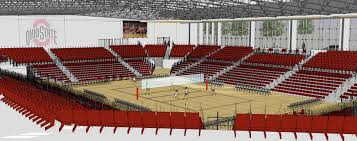 Ohio State Volleyballs New Covelli Center Taking Shape