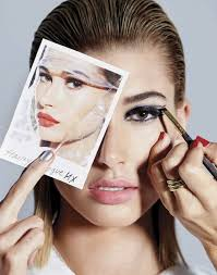 hailey baldwin turns up the glam factor for the april 2018 issue of vogue mexico captured by an le the blonde beauty wears spring makeup trends makeup