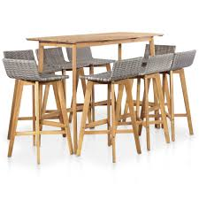 <b>9 Piece</b> Outdoor Dining Set <b>Solid Acacia</b> Wood Sale, Price & Reviews