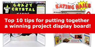 science fair display board templates 10 tips for a winning science project display board