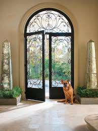 Italian Exterior Doors Exterior Doors - Iron exterior door