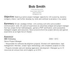 Tips For Resume Objective Writing An Objective For A Resume Examples Sample Objectives