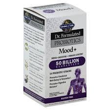 garden of life dr formulated probiotics mood vegetarian capsules