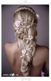 Coiffure De Mariage Avec Tresse Coiffures De Mariage Roses
