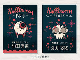 Halloween Business Cards Having A Halloween Party Check Out This Cool Poster Design
