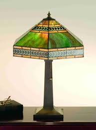 Art Deco Stained Glass Lamp Shades