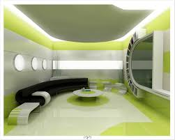 Adorable Simple House Design Inside Bedroom Along With Green ...