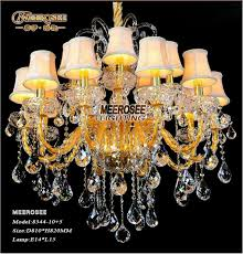 magnificent big crystal chandelier light glass re lighting gold with fabric lampshade chandeliers of living md8344 l10 5 chandeliers glass chandeliers