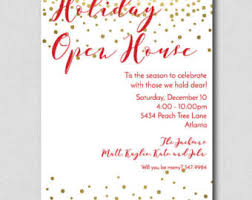 Christmas Open House Invitation Holiday Open House Invitation Rome Fontanacountryinn Com