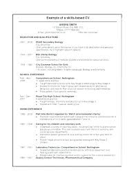 Relevant Work Experience Resume No Working Experience Resume Work ...