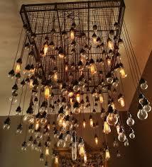 admirable vintage light bulb chandelier home design ideas images about edison bulb chandelier on edison vintage