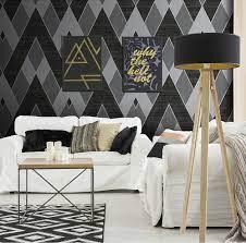Modern Design 106cm Pvc Wallpaper 3d ...