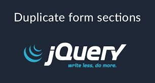 Duplicate form sections with jQuery - David Carr | Web Developer Blog