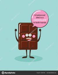 Barre De Chocolat Drôle De Caractère Avec Citation De Linspiration