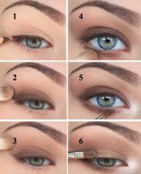 earthy coloured eyeshadow tutorial makeup