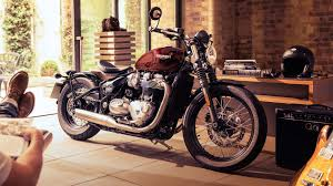 triumph s new bonneville bobber is a factory custom with hardtail