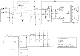 kalamazoo amp field guide bass schematics bass 50 schematic here