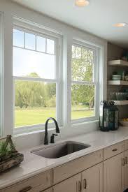 kitchen windows also kitchen window cooking cles also window above kitchen sink also garage door kitchen