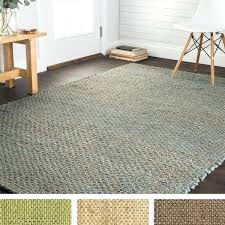 hand woven natural jute rug next natural jute rug