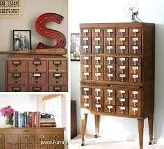 card catalog in home decor furnish burnish
