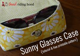Made by Me Monday – Sunny Glasses Case {tutorial + free printable ... & I ... Adamdwight.com
