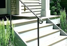 wrought iron porch railing kits outdoor stair metal designing inspiration replacement for interior stairs photos handrail
