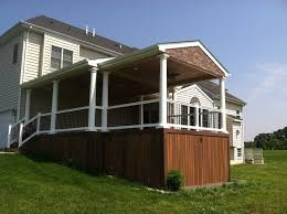 building a roof over your deck decks