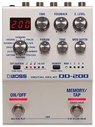 <b>Boss Педаль эффектов</b> DD-200... — купить по выгодной цене на ...