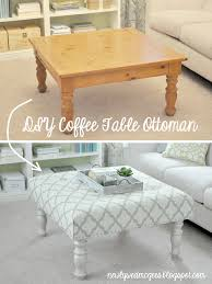 Upholstered Coffee Table Diy Rustic Coffee Table Ottoman Tables Zone Diy Tufted From A U Thippo