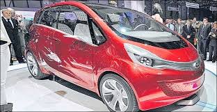 tata new car releaseTATAs 100 kmpl mileage delivering Hybrid Car  Megapixel to be