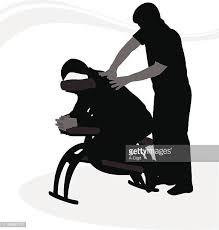 chair massage clip art. massage booth chair clip art h