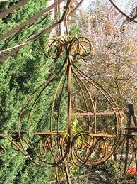 Edelrost Kronleuchter Für 8 Kerzen Angels Garden Dekoshop